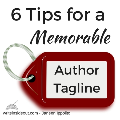 6 Tips for a Memorable Author Tagline