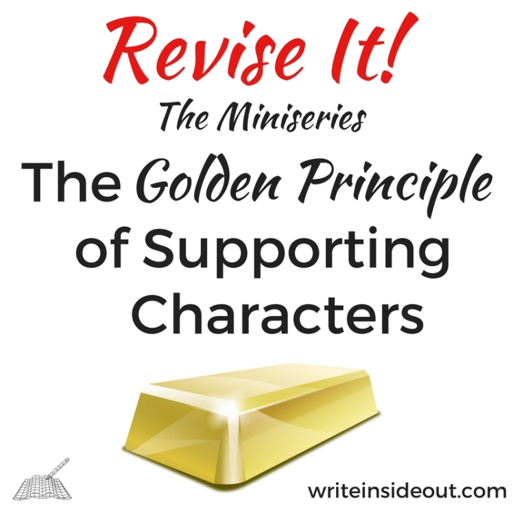 the golden principle of supporting characters - write inside out