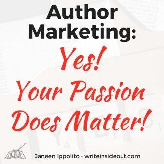 Author marketing and author passion.